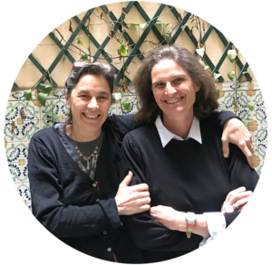 Francesca Pardi e  Maria Silvia Fiengo